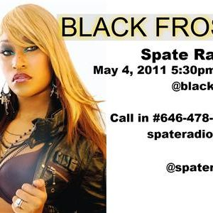 Spate Radio Special Guests include female MC Black Frost