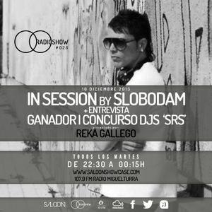 Saloon Radio Show #028 *T2 / Slobodam + Entrevista (Ganador Concurso djs)