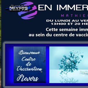 MATHIEU EN IMMERSION - CENTRE DE VACCINATION NEVERS - REPORTAGE INTEGRAL