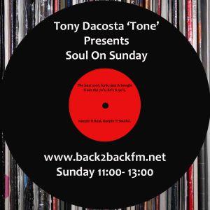 Soul On Sunday 200113 Hosted by Tony Dacosta