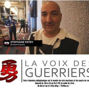 LA VOIX DES GUERRIERS AVEC STÉPHANE PATRY (8 juillet)
