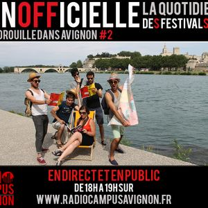 Inofficielle #2 - Radio Campus Avignon - 23/07/2014