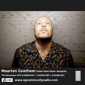 SGCR Radio Show #23 - 07.12.2017 Episode Part 2 ft. Maarten Goetheer