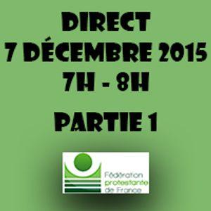Lundi 7 Décembre 2015 // GRAND DIRECT PARIS COP21 // 7H-9H // PARTIE 1