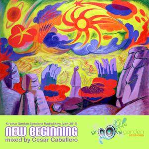 "Groove Garden Sessions (Jan-2011) ""New Beginning"""