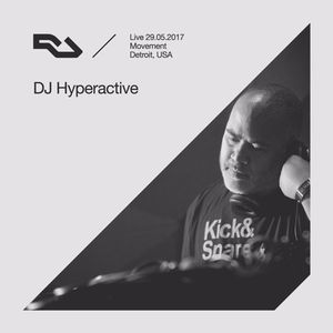 DJ Hyperactive - live at The RA Underground Stage, Movement (Detroit) - 29-May-2017