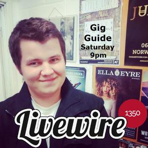 Gig Guide 14/15 - Week 1 (11-10-2014)