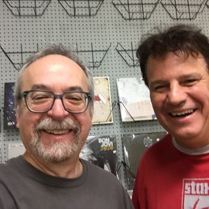 Anything Anything with Rich Russo 7-25-21 SEGMENTS with Rob Roth of Vintage Vinyl