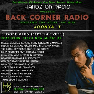 BACK CORNER RADIO: Episode #185 (Sept 24th 2015)