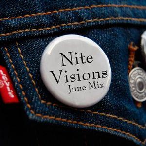 The Nite Visions | BlvckGloves - [June Mini Mix] (2011)