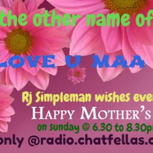 Rj Simpleman celebrates Mothers day