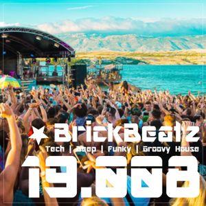 BrickBeatz - Podcast 19.008  [Tech   Deep   Funky   Groovy House]