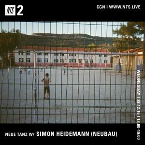 Neue Tanz w/ Simon Heidemann - 28th December 2016