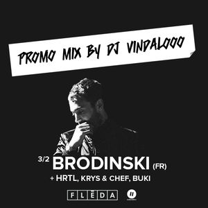 BRODINSKI @ FLÉDA BRNO 3.2.2017 - Promo mix by DJ Vindalooo