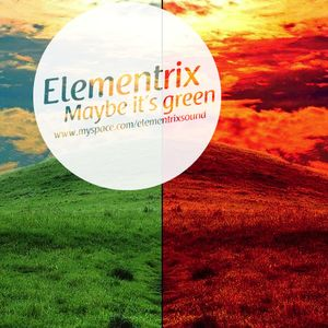Maybe it's green