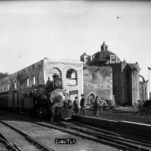 Cuautla, Morelos. Zona de Monumentos Históricos_Estacion Ferrocarril