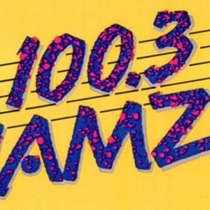 "100.3 JAMZ  (KJMZ 100.3 FM) Dallas/Fort Worth - June 1989 - ""The Thunderstorm"" House Mix on 100.3"