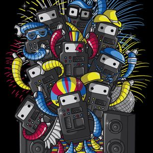 Robot Party (for bionic ears only !)
