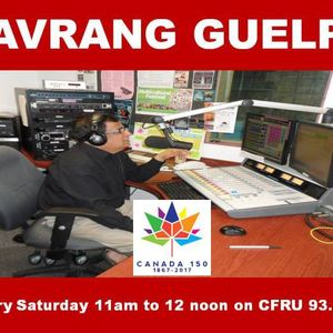 Navrang Guelph Radio show Dec 30,2017 Anish Trikha Part 1