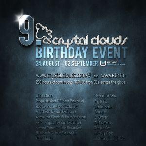 Jeremy Rowlett - Crystal Clouds 9th Birthday Set ETN.fm