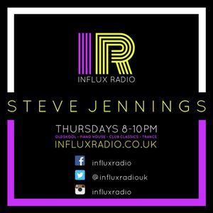Steve Jennings live @ Influx Radio - Throwback Thursday #3 19th January '17