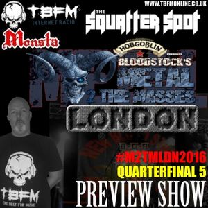 The Squatter Spot on TBFM Online (27-03-2016 M2TMLDN2016 QuarterFinal 5 Preview)