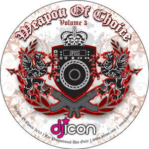 DJ ICON - Weapon Of Choice Vol. 3