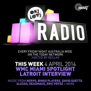 ONELOVE Radio - 4 APRIL 2014 + Latroit Interview