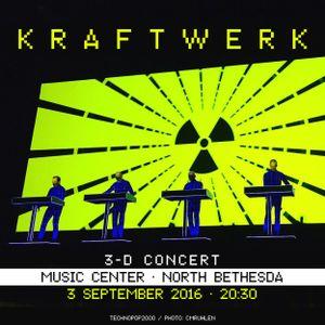 Kraftwerk - Music Center, North Bethesda, 2016-09-03 [Excerpt]