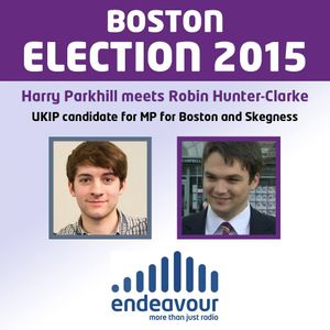Interview with Robin Hunter-Clarke UKIP Candidate For Boston and Skegness