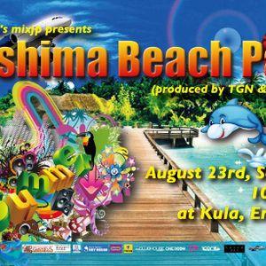 'Enoshima Beach Party' feat. Guest Live 'JAMOSA' @Kula, Enoshima 23rd August, 2014【Tech, EDM】