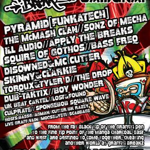 Disowned@Graffiti Breakz (Bassline Samurai) 1st May 2010