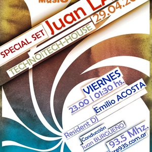 Juan Lavin @ LEVEL MUSIC Radio #93.5   29.04.11