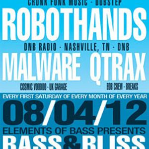 Doombox w/MC Precision LIVE @ Bass & Bliss 08.04.12