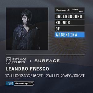 Surface Bookings & Estamos Felices - Leandro Fresco (Underground Sounds of Argentina)