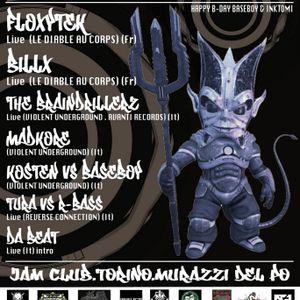 DaBeaT - Born To Be Hard 12 @ Jam Murazzi (Turin) Tribecore (25-02-12)