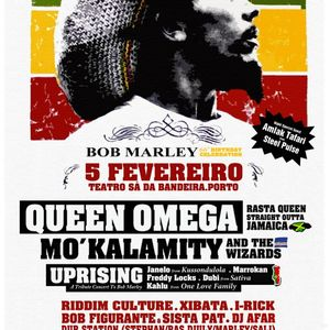 Mo'KALAMITY Live And Direct @ Bob Marley Tribut - 05 Fev. 2011 @ TSB-Porto