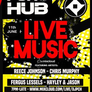 The P.C.H Djs Live Stream Friday night in the PCH Hub with Reece Johnson 11th June 2021