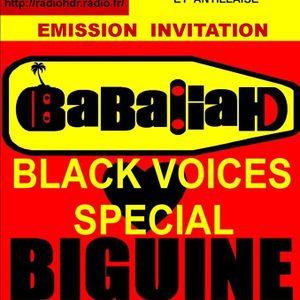 HDR BLACK VOICES invite BABALIAH BIGUINE années 60  RADIO HDR ROUEN
