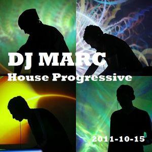DJ Marc - House-Progressive (2011-10-15)