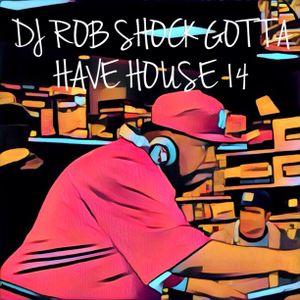 DJ ROB SHOCK - GOTTA HAVE HOUSE 14
