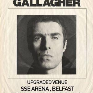 Liam Gallagher in Belfast