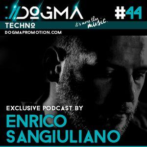 Enrico Sangiuliano - Techno Live Set // Dogma Techno Podcast [July 2015]
