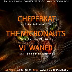 The Micronauts - Les Contes du chat chéper (Live DJ Mix 2010)