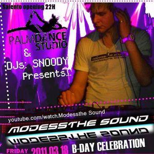 Modessthe Sound -  Double Milk Shake B-Day '11