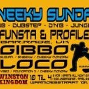 FUNSTA MC & DJ PROFILE (BAR:RAGE, UK) 17 - FEB - 2013 SNEEKY SUNDAY