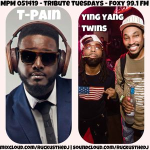 Midday Party Mix - T-Pain vs Ying Yang Twins - Foxy 99.1 FM