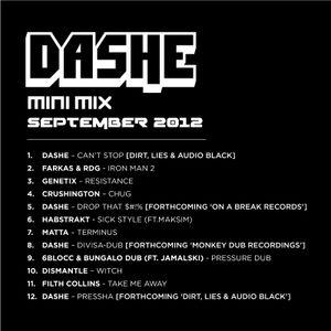 Dashe - Mini Mix (Sept 2012)