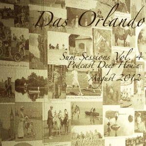 Das Orlando - Sum Session Vol. 4 (Podcast Deep House August 2012)