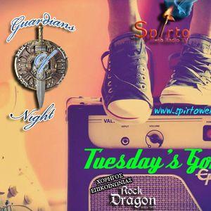 Guardians Of Night : Tuesday's Gone.. 15/3/16 @ Spirto Web Radio